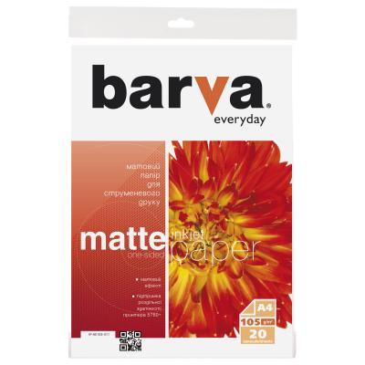Бумага BARVA A4 Everyday Matte 105г, 20л (IP-AE105-311)