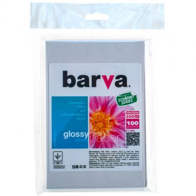 Бумага BARVA 10x15 Everyday 200г Glossy (IP-CE200-217)