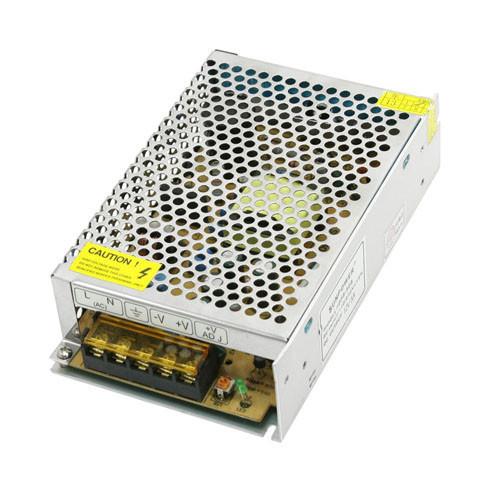 Блок питания перфорированный 12В 16.6А 200Вт, 2-кан для LED-лент CCTV