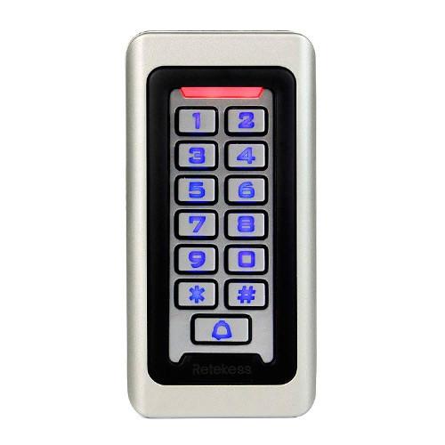Система контроля доступа СКД панель RFID 125КГц+13.56МГц антивандальна