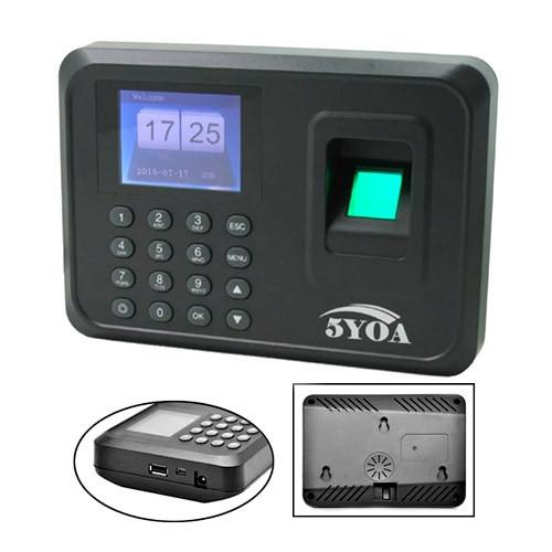 Биометрический терминал контроля доступа СКД по отпечаткам пальцев 5YO