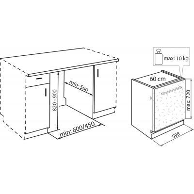 Посудомоечная машина Hotpoint-Ariston WIO3C2365 E (WIO 3C2365 E) 2