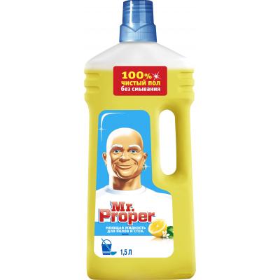 Моющая жидкость для уборки Mr. Proper Универсал Лимон 1,5 л (541007695
