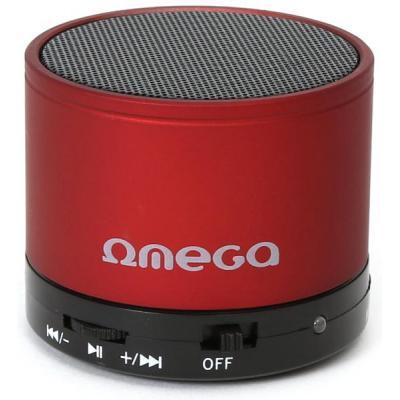 Акустическая система OMEGA Bluetooth OG47R red (OG47R)