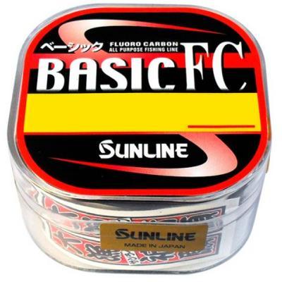 Флюорокарбон Sunline Basic FC 225м 0.37мм #5 20LB (1658.01.01)